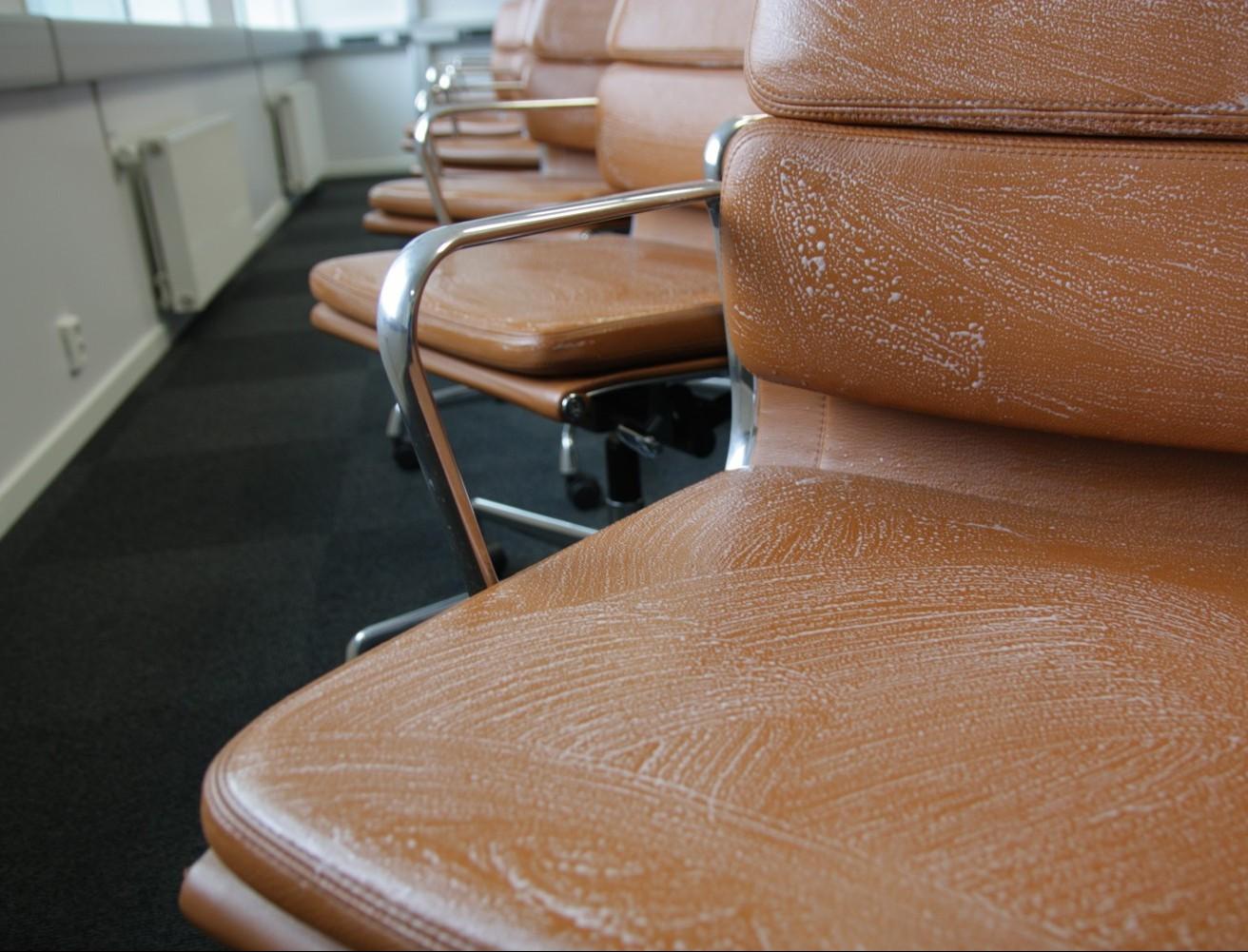 Skinnrens av Eames konferansestoler