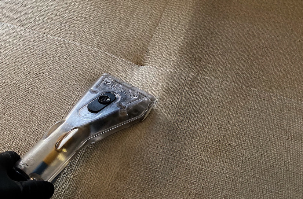 møbelrens av sofa